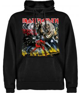 Iron Maiden The Number Of The Beast Sudadera con capucha y bolsillo