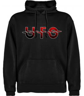 Ufo Logo Sudadera con capucha y bolsillo