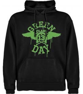 Green Day 13 Class Sudadera con capucha y bolsillo