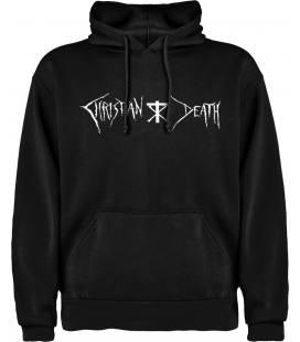 Christian Death Logo Sudadera con capucha y bolsillo