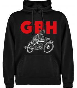 GBH Biker Sudadera con capucha y bolsillo