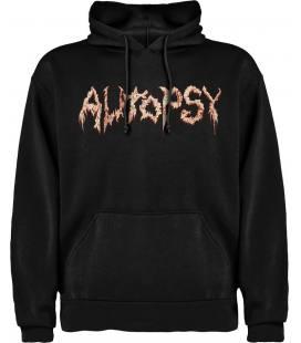 Autopsy Logo Sudadera con capucha y bolsillo