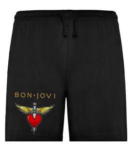 Bon Jovi Heart Bermudas