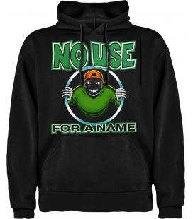 No Use For A Name Logo Sudadera con capucha y bolsillo