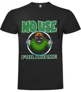 No Use For A Name Logo Camiseta Manga Corta Bandas