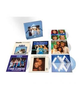 "The Singles Coloured Vinyl Box Limited (Voulez-Vous 40th Anniversary Format) (7 LP Singles 7"")"