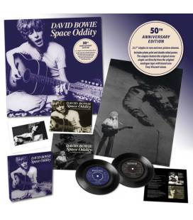 """Space Oddity 50Th Anniversary (2 LP 7"""" Boxed)"""
