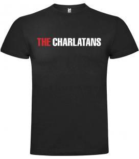 The Charlatans Logo Camiseta Manga Corta Bandas