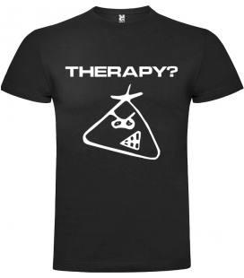 Therapy? Logo Camiseta Manga Corta Bandas