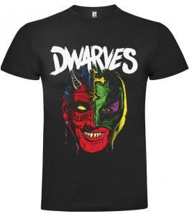 Dwarves Face Camiseta Manga Corta Bandas