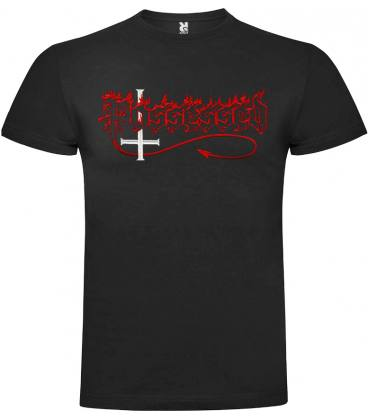 Possessed Logo Camiseta Manga Corta Bandas