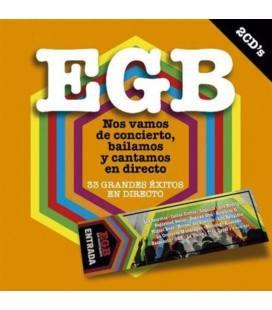 EGB Nos Vamos De Concierto Bailamos Y Cantamos En Directo (2 CD)