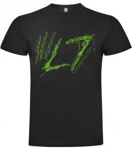 L7 Logo Camiseta Manga Corta Bandas