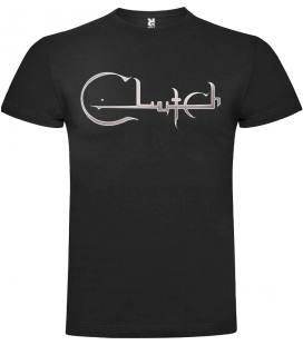 Clutch Logo Camiseta Manga Corta Bandas