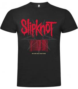 Slipknot We are not your kind Camiseta Manga Corta Bandas