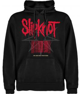Slipknot We are not your kind Sudadera con Capucha y Bolsillo Bandas