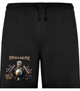 Megadeth Bomb Bermudas