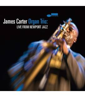 James Carter Organ Trio: Live from Newport Jazz (1 CD)