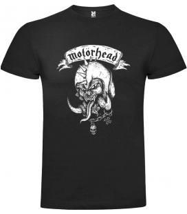 Motorhead Helmet Spikes Camiseta Manga Corta Bandas