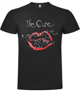 The Cure Kiss Me Camiseta Manga Corta Bandas