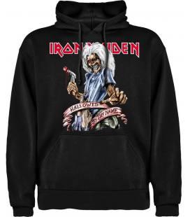 Iron Maiden Hallowed Be Thy Name Sudadera con capucha y bolsillo