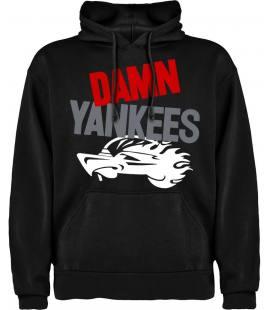 Damn Yankees Logo Sudadera con capucha y bolsillo