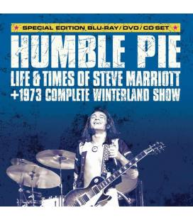 Humble Pie: Life And Times Of Steve Marriott (1 DVD+1 BLU RAY+1 CD)