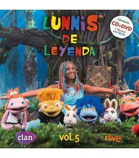 Lunnis De Leyenda Vol. 5 (1 CD+1 DVD)