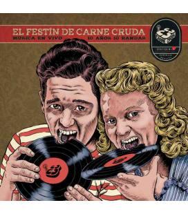 El Festín De Carne Cruda , 10 Años 10 Bandas (1 LP)