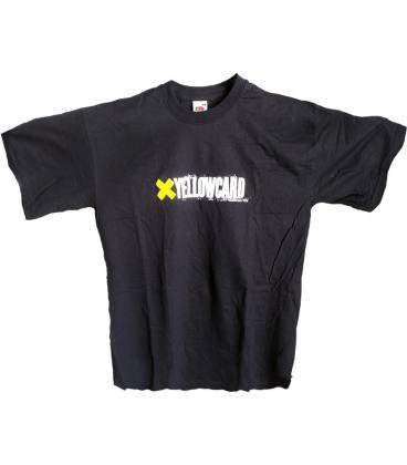 Yellowcard Camiseta Manga Corta - Negra - Talla M