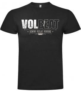 Volbeat Rewind Camiseta Manga Corta Bandas