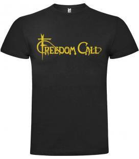 Freedom Call Logo Camiseta Manga Corta Bandas