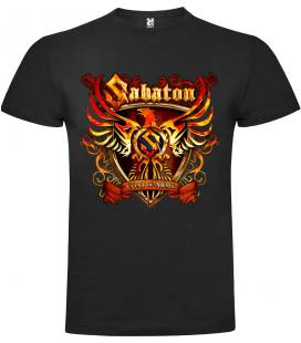Sabaton Coat Of Arms Camiseta Manga Corta Bandas