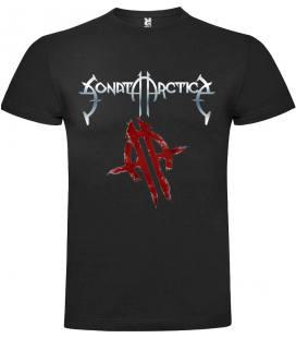 Sonata Arctica Logo Camiseta Manga Corta Bandas