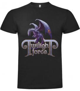 Twilight Force Dragon Camiseta Manga Corta Bandas