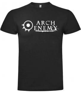 Arch Enemy Logo Camiseta Manga Corta Bandas