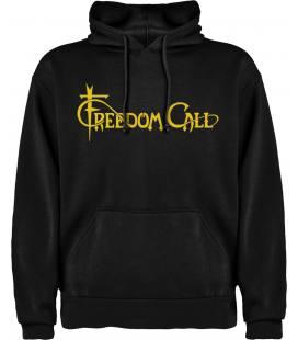 Freedom Call Logo Sudadera con capucha y bolsillo