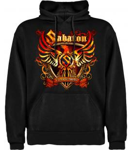 Sabaton Coat Of Arms Sudadera con capucha y bolsillo