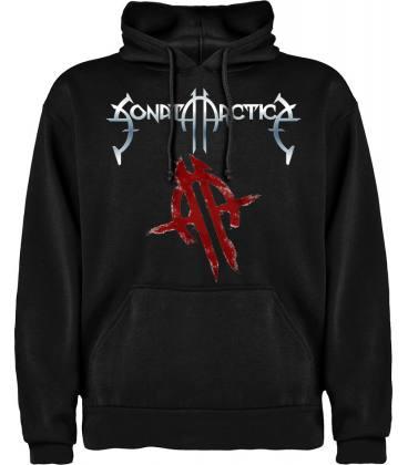 Sonata Arctica Logo Sudadera con capucha y bolsillo