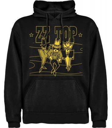 ZZ Top Going 50 Sudadera con capucha y bolsillo