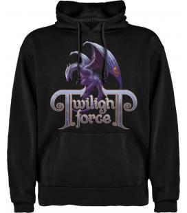 Twilight Force Dragon Sudadera con capucha y bolsillo