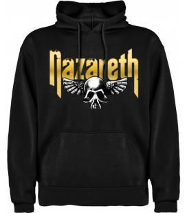 Nazareth Skull Sudadera con capucha y bolsillo