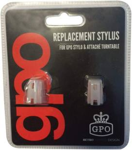GPO Stylus Needle Blister Pack Stylo/Attache (2 Units)