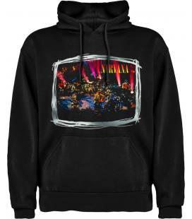 Nirvana Mtv Unplugged Sudadera con capucha y bolsillo