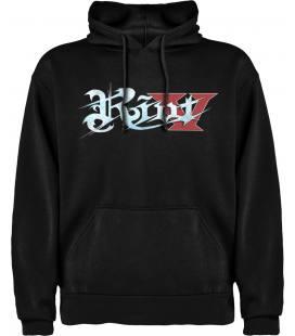 Riot V Logo Sudadera con capucha y bolsillo
