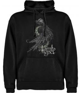 Lamb Of God Serpent Sudadera con capucha y bolsillo