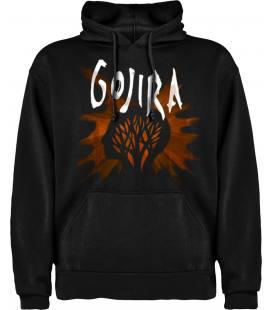 Gojira L'Enfant Sauvage Sudadera con capucha y bolsillo