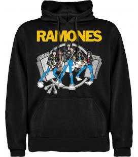 Ramones Road To Ruin Sudadera con capucha y bolsillo