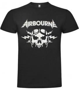 Airbourne Boneshaker Camiseta Manga Corta Bandas