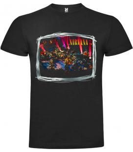 Nirvana Mtv Unplugged Camiseta Manga Corta Bandas